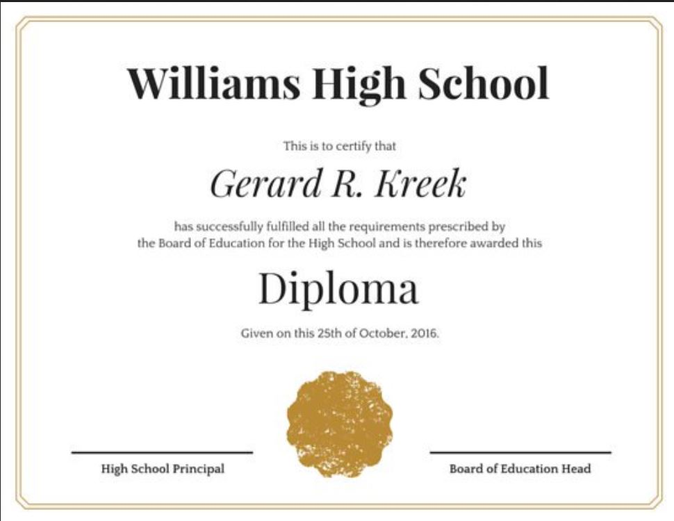 image relating to Printable High School Diploma titled 37+ Significant College Degree Template - 2019 Free of charge Document PDF