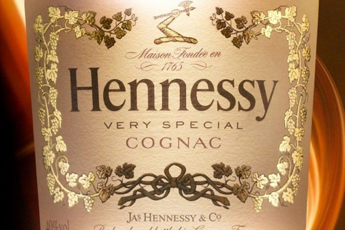 hennessy label template